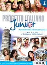 Progetto italiano junior 1. Libro studente + esercizi + CD Audio + DVD