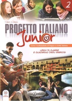 Progetto italiano Junior 2. Libro studente + esercizi + CD-audio